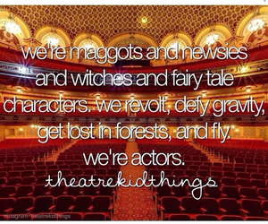 actors, broadway, and quote image
