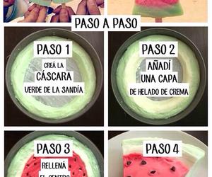 tutorial, sandia, and helado image