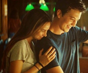 the spectacular now, miles teller, and aimee image