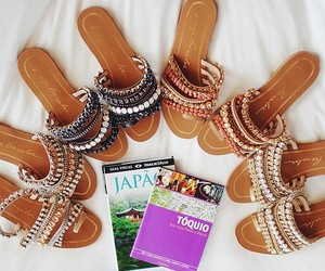 fashion, sandals, and it girl image