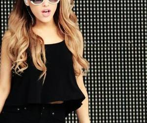 ariana grande, ariana, and black image