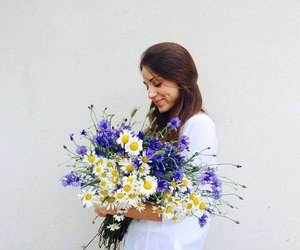beautiful, fashion, and flowers image