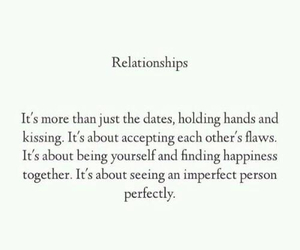 Relationship, love, and perfect image