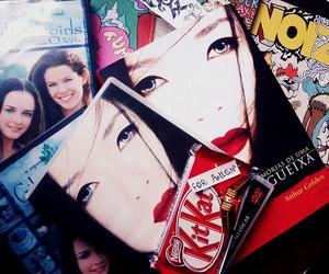 book, dvd, and geisha image