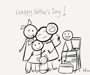 dad, father's day, and I Love You image