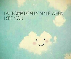quote, clouds, and smile image