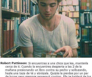 rober pattinson and una chica que les image