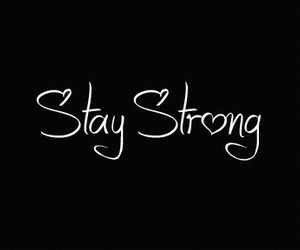 positive and strength image