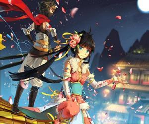 anime, colourful, and ninja image