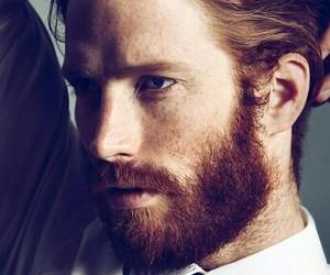 beard, ginger, and redhead image
