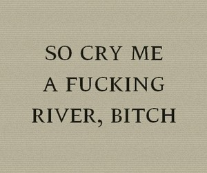 bitch, cry, and Lyrics image