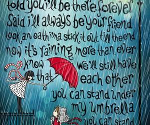 umbrella, rihanna, and Lyrics image