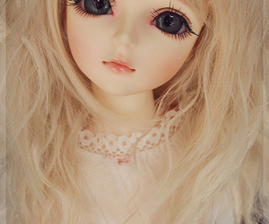 doll, girl, and beautiful image