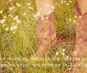 boots, country music, and luke bryan image
