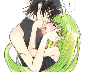 code geass, c.c, and lelouch image