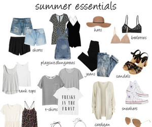 summer, clothes, and fashion image