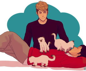 cat, jean, and marco image