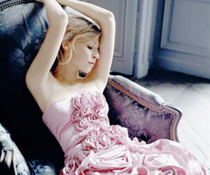 clemence poesy, fashion, and makeup image