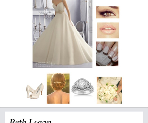 beautiful, party, and wedding dress image