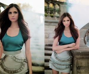 Nina Dobrev, fashion, and Vampire Diaries image