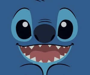 blue, wallpapers, and stitch image
