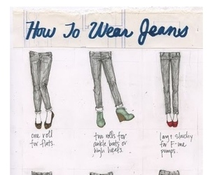 jeans, shoes, and how to image
