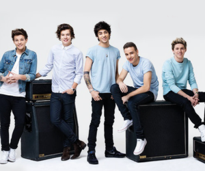 blue, Hot, and one direction image
