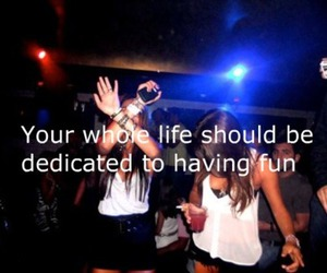 fun, party, and life image