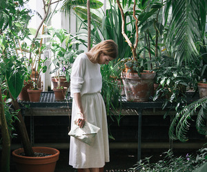 style, green, and plants image