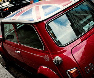car, mini, and red image