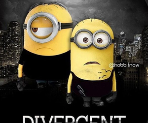 divergent, minions, and tris image
