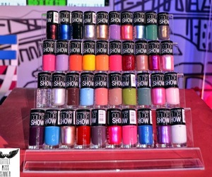 colours, girly, and Maybelline image