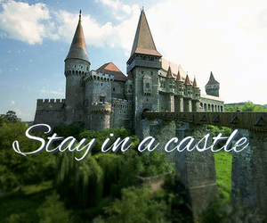 before i die, castle, and royalty image