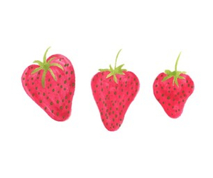 overlay and strawberry image