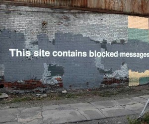 BANKSY, message, and street art image