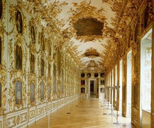 architecture, building, and rococo image