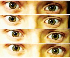 ashton, eyes, and ojos image