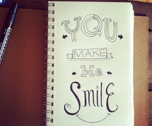 make, me, and smile image