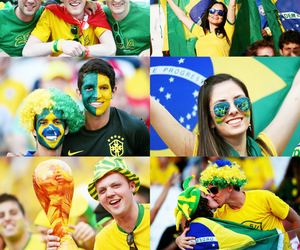 brasil, fifa world cup 2014, and brazil image