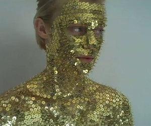 gold sequins image