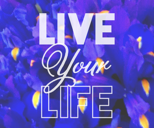 life, live, and flowers image