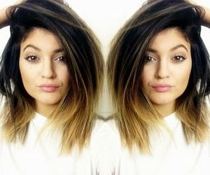 kylie jenner, ombre, and kardashian image