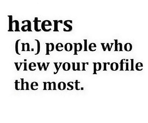 haters, quote, and true image