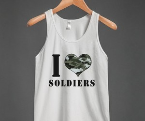 army, shirt, and army wife image