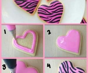 pink, Cookies, and diy image