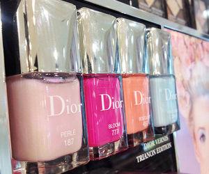 dior, fashion, and nails image