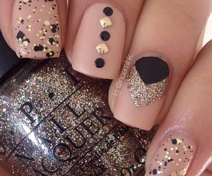 nails, ongles, and vernis image