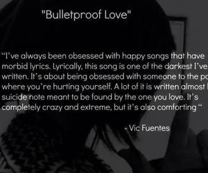 bulletproof love, pierce the veil, and ptv image