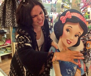 once upon a time, snow white, and evil queen image