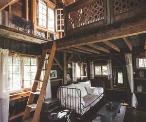 beautiful, cabin, and home image